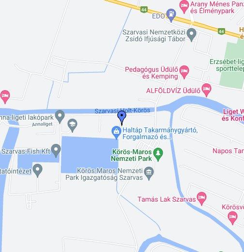 szarvas térkép google Haltáp Kft. Szarvas – Google Saját térképek
