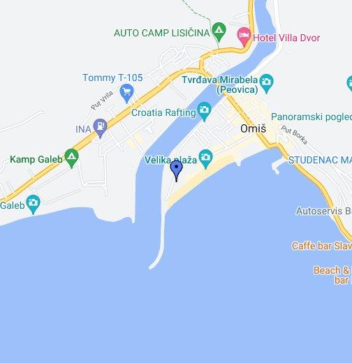 Omiš - Google My Maps