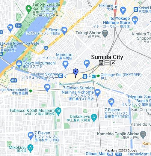 Tokyo Sky Tree - Google My Maps