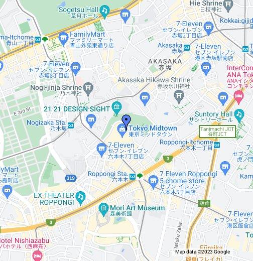 The Ritz-Carlton Tokyo - Google My Maps