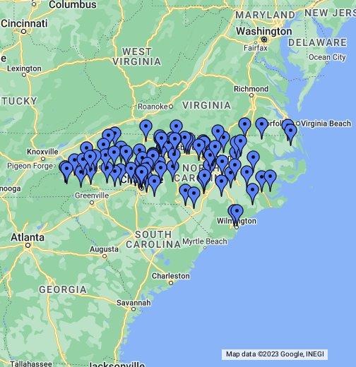 North Carolina Colleges
