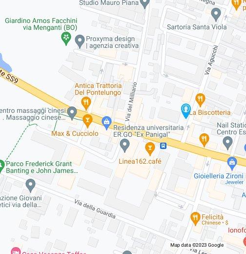 Terme Felsinee Via Agucchi.Terme San Luca Pluricenter E Parcheggio Ex Panigal Google My Maps