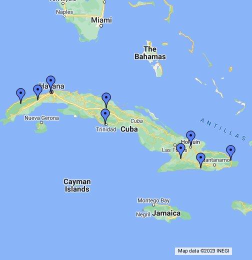 Cuba Map - Cuba map