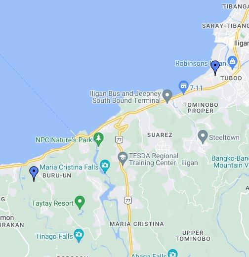 Iligan City - Google My Maps