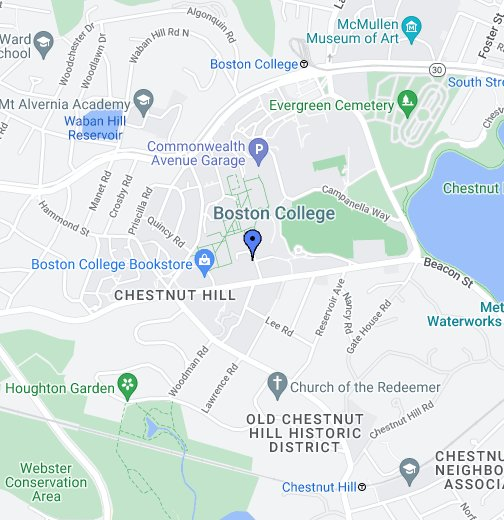 Boston College - Google My Maps