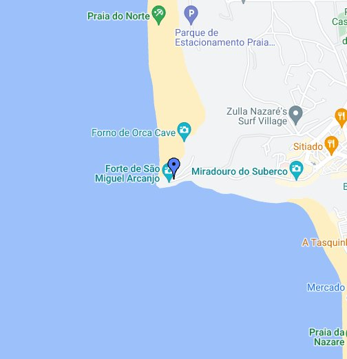 mapa google lisboa portugal Nazare, Portugal   Google My Maps mapa google lisboa portugal