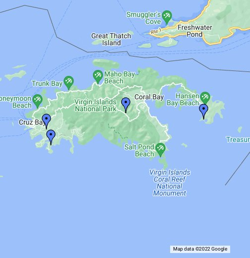 St John Land For Sale - Google My Maps