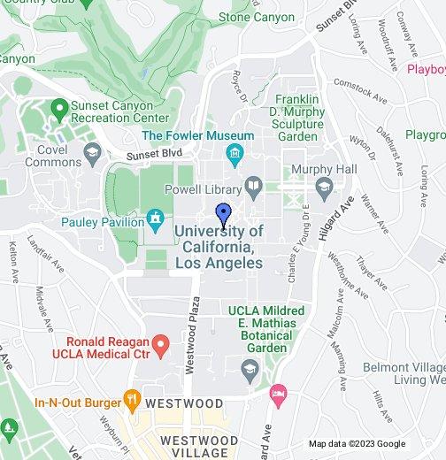 Kerckhoff Hall Ucla Map