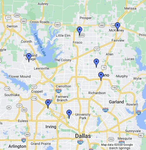 Dallas Texas Usa Map | Business Ideas 2013