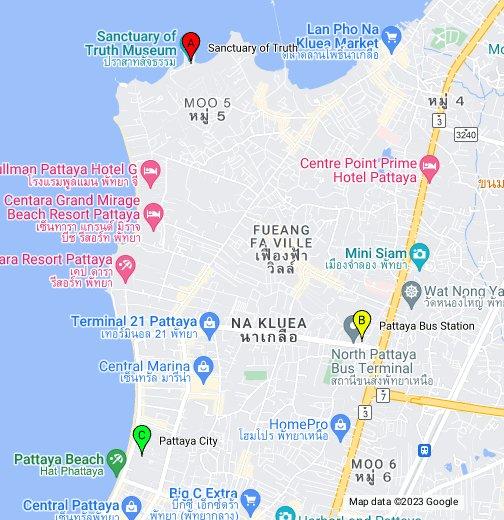 Sanctuary Of Truth Pattaya Google My Maps