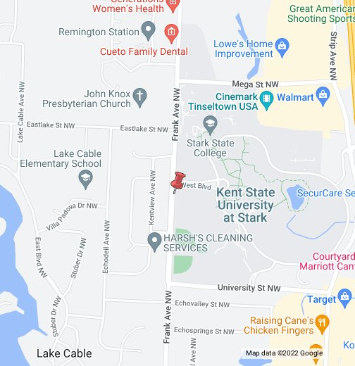 Kent State Stark Campus Map.Stark State College Of Technology Google My Maps