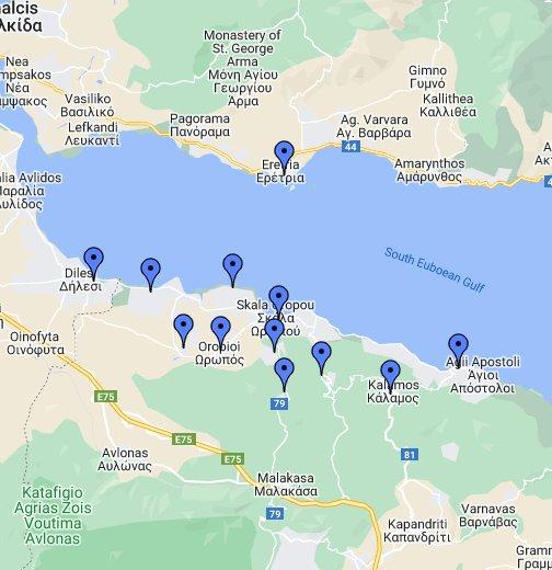 δασικοι χαρτεσ Ο ΩΡΩΠΟΣ ΑΠΟ ΔΟΡΥΦΟΡΟ   Google My Maps δασικοι χαρτεσ