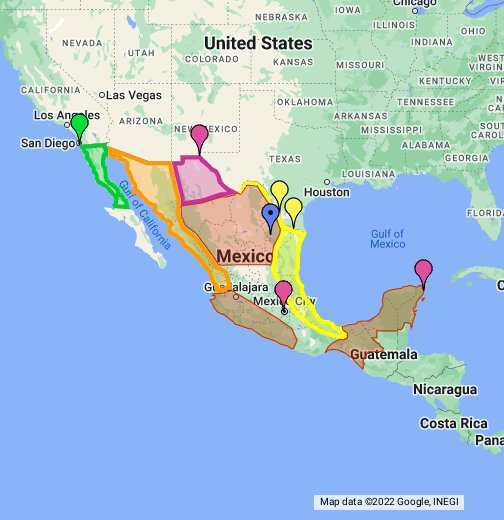 MEXICO IN THE CROSSFIRE - Google My Maps