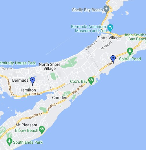 Bermuda - Google My Maps