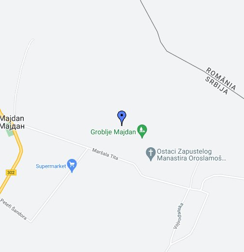 google srbija mapa Majdan   Google My Maps google srbija mapa