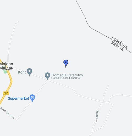 srbija mapa google Majdan   Google My Maps srbija mapa google