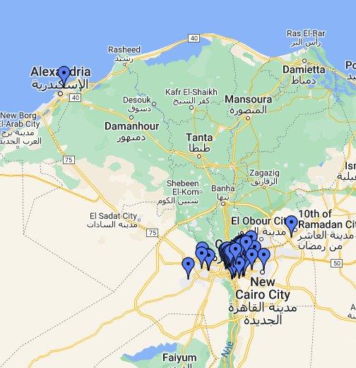 Cairo Google My Maps