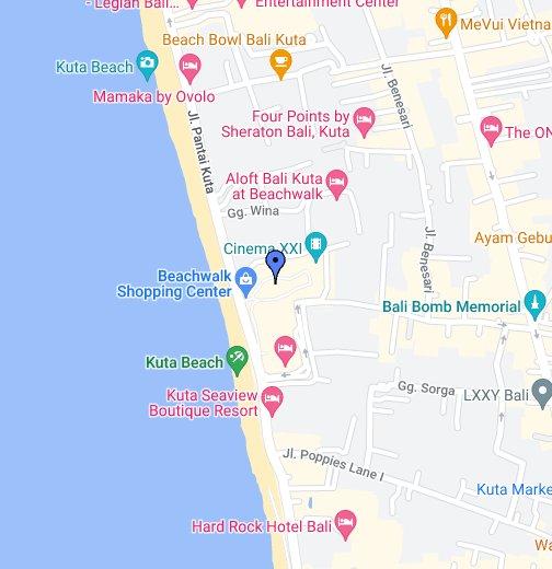 Cinema Xxi Beachwalk Google My Maps