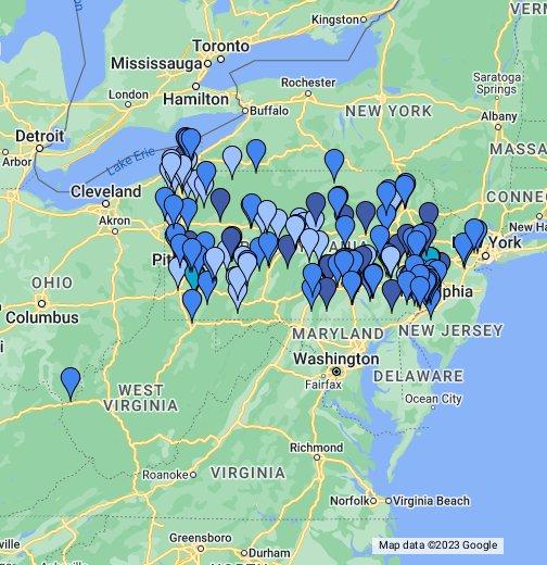 Ids 2013 Full Membership Google My Maps