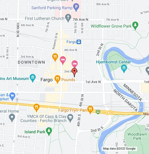 Fargo, N.D. - Google My Maps on time zone map, ae map, ca map, nh map, ne map, efis map, nv map, sd map, ks map, al map, ohio map, mn map, ri map, w.va map, co map, wy map, md map, eastern oh map, mo map, wa map,