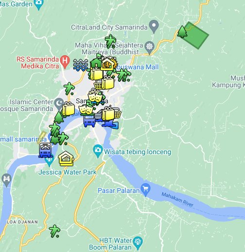 Kota Samarinda - Google My Maps