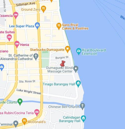 Dumaguete City Map Dumagete City   Google My Maps