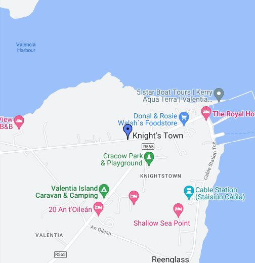 Valentia Google My Maps