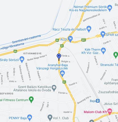 baja térkép google Krammer Mérleg Baja Bolgár u. 2. – Google Saját térképek baja térkép google