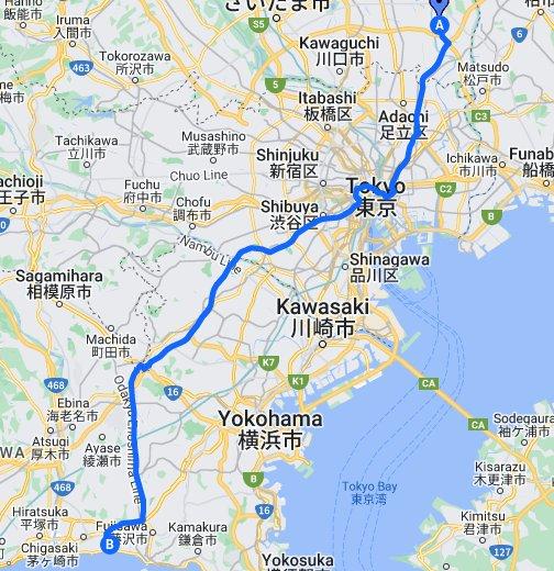 神奈川県道45号丸子中山茅ヶ崎線...