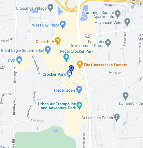 Crocker Park Map Crocker Park   Google My Maps
