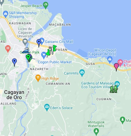 Cagayan de Oro City   Google My Maps