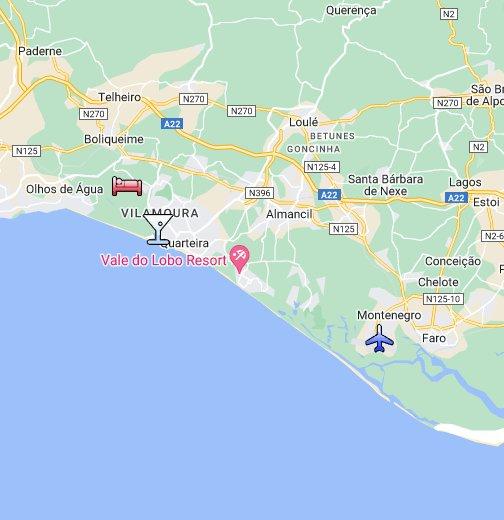 Algarve Portugal - Portugal map vilamoura