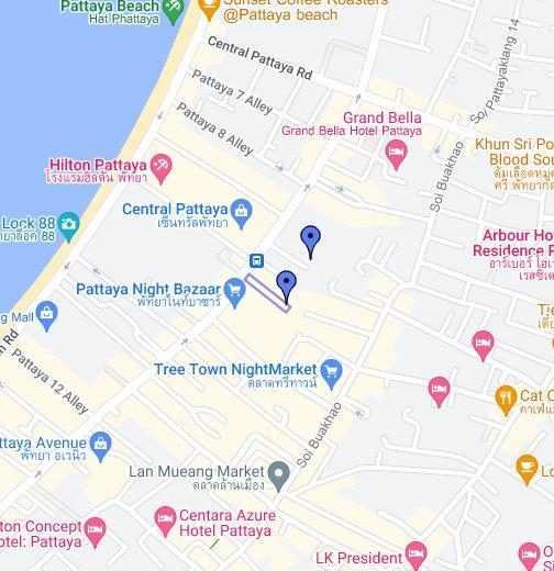 Pattaya Nightlife Soi 9 10 Google My Maps