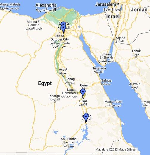 Map Of Egypte Egypte – Google My Maps