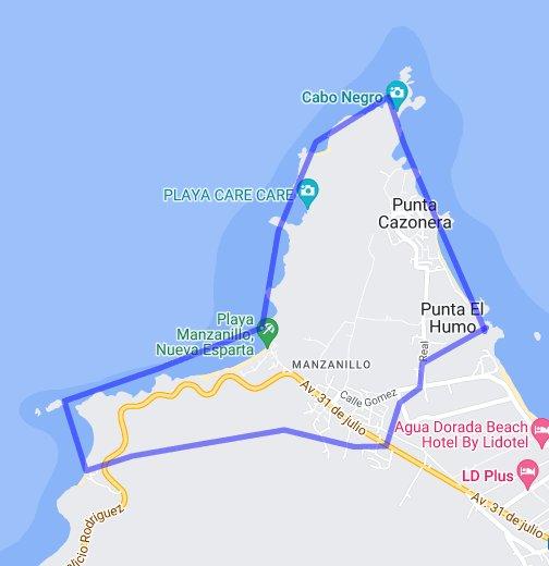 Manzanillo Google My Maps