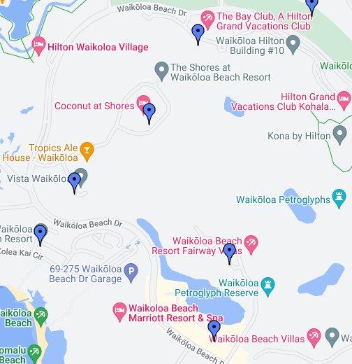 Waikoloa Beach Resort - Google My Maps on wailea beach marriott map, hali'i kai map, fairway villas map, napili point map, halii kai map, hawaii kai map, luana kai map, constantine map, grand wailea map, pauoa beach map, oran map,