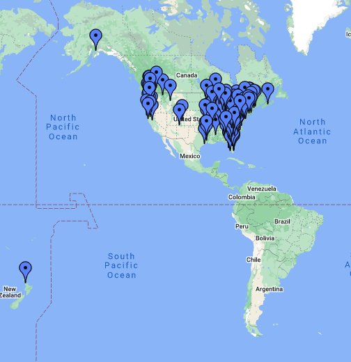 LogRite Dealer Locator - Google My Maps