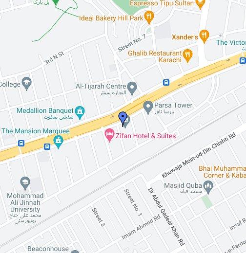 Aptech Shahrah-e-Faisal Center - Google My Maps