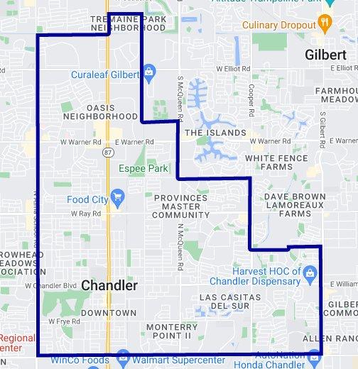85225 Zip Code Map - Chandler, Arizona - Google My Maps on