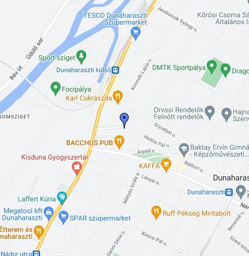 dunaharaszti térkép 2330 Dunaharaszti – Google Saját térképek
