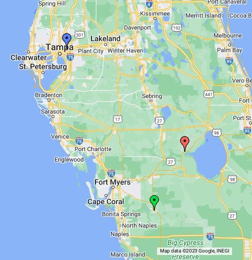 Casinos near Tampa, Florida - Google My Maps