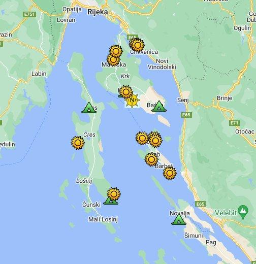 FKK Croatia Kvarner - Google My Maps