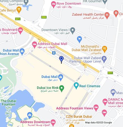 Sadek Music (Dubai Mall) - Google My Maps on