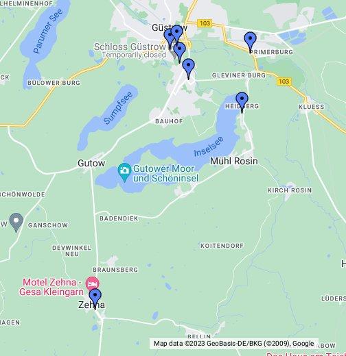 Güstrow Karte.Güstrow Google My Maps