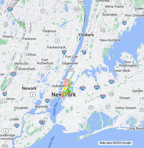 Locality Nyc Nyc Manhattan Neighborhoods Google My Maps