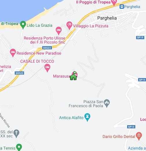 Marasusa Holiday Village Marasusa Tropea Italy Google My Maps
