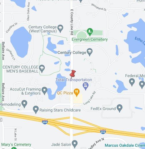 century college campus map Century College Google My Maps century college campus map
