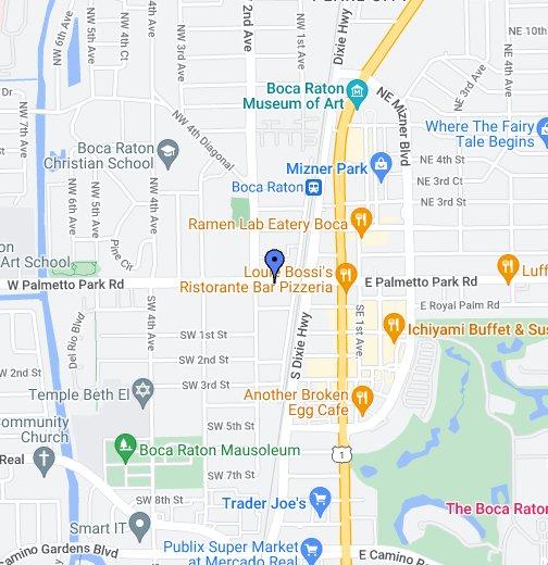 Boca Raton Florida Map Boca Raton, FL   Google My Maps