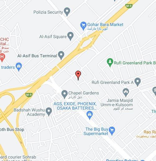 Gulshan-e-Iqbal Town - Google My Maps