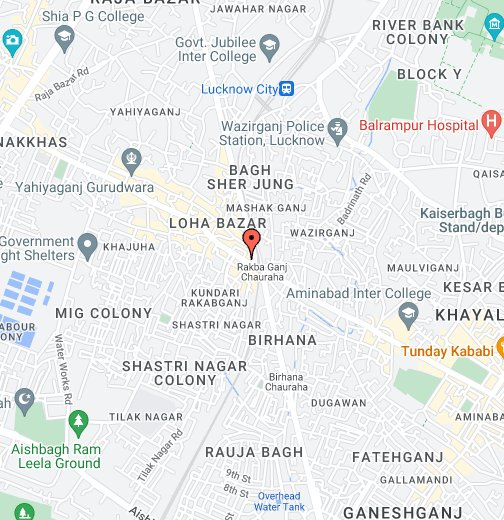 Map 0f India.Lucknow Google My Maps